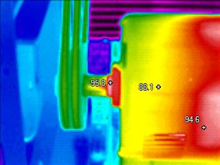Infrared Inspections of Over Heated Bearing